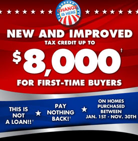 First Time Homebuyers Tax Credit Will It Get Extended