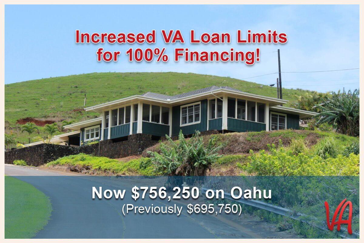 Increased VA Loan Limits on Oahu! |Hawaii VA Loans | VA ...
